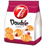Croissante 7Days mini cu vanilie si visina 185g