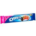 Печенье Oreo со вкусом какао и клубничным кремом 95г