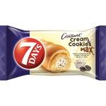 Croissant 7Days max cu vanilie si biscuiti 80g