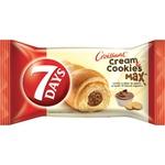 Круассаны 7Days max со вкусом орехов и печенья 80г