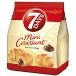 Croissant 7Days mini cu cacao 60g