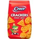 Crackers Croco cu gust de branza 100g
