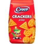Crackers Croco cu gust de pizza 100g