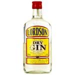 Джин Lord Lordson 37,5% 0,7л