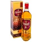 Виски Grants 8 лет 0,7л