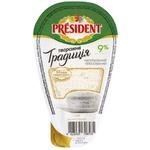 Branza President Traditie 9% 250g