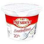 Smantana President 20% 200g