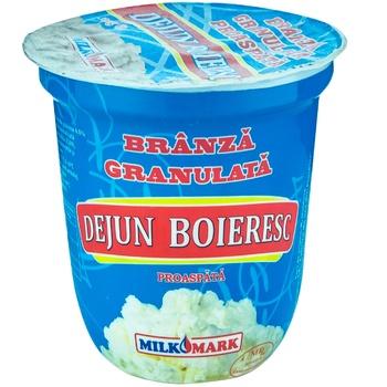Творог Dejun Boieresc Milk Mark 4% 300г - купить, цены на Метро - фото 1