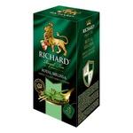 Чай Richard зеленый в пакетиках со вкусом мелисы 25 x 2гр