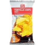 Chips Fine Life din porumb cu gust de paprica 200g