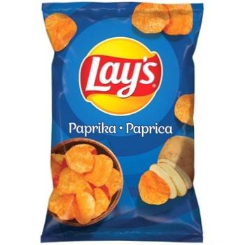 Chips Lay's cu gust de paprica 140g - cumpărați, prețuri pentru Metro - foto 1