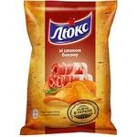Chips Lux cu gust de becon 71g