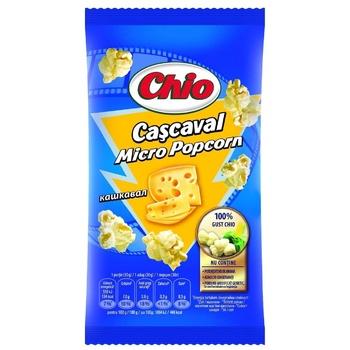 Попкорн для микроволновой печи Chio сыр 80г - купить, цены на Метро - фото 1