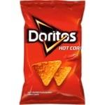 Кукурузные чипсы Doritos острые 100г