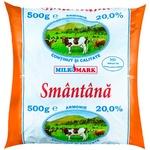 Сметана Milk-Mark 20% 500г