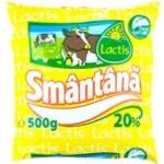 Smantana Lactis 20% 500g