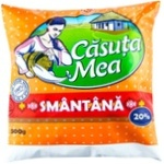 Сметана Casuta Mea 20% 450г