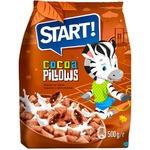 Cухой завтрак Start шоколадные подушечки 500г