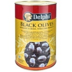 Masline negre cu samburi Delph 70/90 4kg