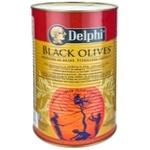 Masline negre Delphi 261/290 4250g