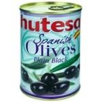 Masline negre Hutesa cu sambure 420g