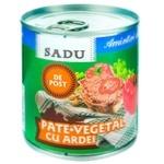 Паштет постный с болгарским перцем Sadu 200g