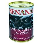 Masline negre Benanai fara sambure 390g
