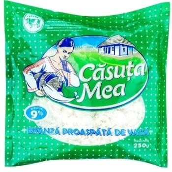 Творог Casuta Mea 9% 250г - купить, цены на Метро - фото 1
