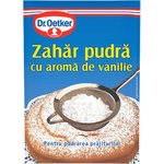 Zahar pudra cu vanilie Dr. Oetker 80g