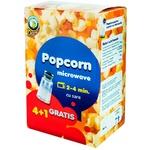 Popcorn pentru cuptor cu sare 4+1 gratis