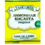 Лимонная кислота Vamcorex 40г