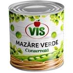 Зеленый горошек консервированный Vis 420г