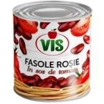 Фасоль красная Vis в томатном соусе 410г