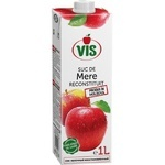 Сок яблочный Vis осветленный без сахара 1л