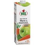Нектар яблочно-морковный Vis с мякотью 1л