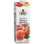 Нектар яблочно-абрикосовый Vis с мякотью 1л