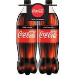 Bautura racoritoare carbogazoasa Coca-Cola fara zahar PET 2x1,5l