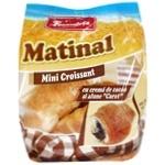 Mini Croissante Franzeluta cu crema de cacao si alune Carat 130g