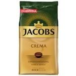 Кофе в зернах Jacobs Crema 1кг
