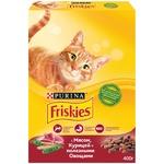 Hrană uscată pentru pisici Friskies pui/legume 300g