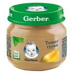 Пюре Gerber Груша 80г