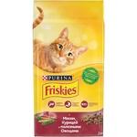 Корм для кошек Friskies говядина/курица/овощи 1,5 кг