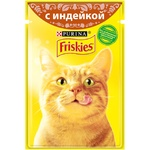 Hrana pisici Friskies curcan 100g