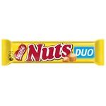 Шоколадный батончик Nuts Megabite 66г