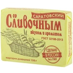 Маргарин Саратовский сливочный вкус 60% 150г
