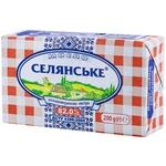 Масло Селянське сладкосливочное 82% 200г