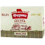 Масло cливочное Ферма Экстра 85,5% 200г
