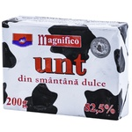 Unt JLC Magnifico din smantana dulce 82,5% 200g