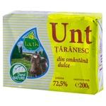 Масло сливочное Lactis Taranesc 72,5% 200г