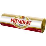 Масло кисло-сливочное President doux 82% 1кг